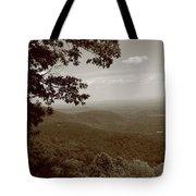 Blue Ridge Mountains - Virginia Sepia 9 Tote Bag