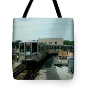 Cta's Retired 2200-series Railcar Tote Bag