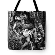Davy Crockett (1786-1836) Tote Bag