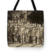 Hine Child Labor, 1911 Tote Bag