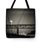 Tappan Zee Bridge Tote Bag