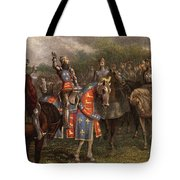 1400s Henry V Of England Speaking Tote Bag