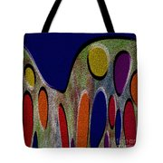 1404 Abstract Thought Tote Bag