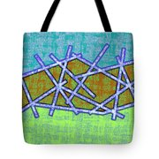 1455 Abstract Thought Tote Bag