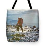 A Summit Intern Hikes The Northwest Tote Bag
