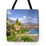 Alpine Village Tote Bag