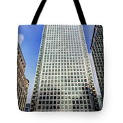 Canary Wharf Tower Tote Bag