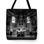Church Of Saint Agnes Tote Bag