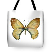15 Clouded Apollo Butterfly Tote Bag by Amy Kirkpatrick