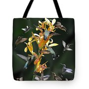 15 Hummingbirds Tote Bag