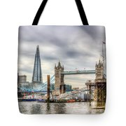 River Thames View Tote Bag