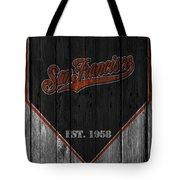 San Francisco Giants Tote Bag