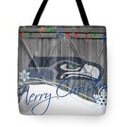 Seattle Seahawks Tote Bag by Joe Hamilton