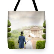 Victorian Couple  Tote Bag