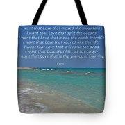 151- Rumi Tote Bag