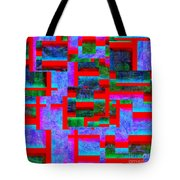 1520 Abstract Thought Tote Bag