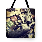 154 Bullets In 5 Minutes Tote Bag