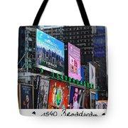 1540 Broadway Tote Bag