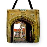 1540 Entrance To Enkhuizen-netherlands Tote Bag