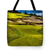 #16 At Chambers Bay Golf Course - Location Of The 2015 U.s. Open Tournament Tote Bag