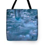 Australia - Deep Blue White Water Colour Tote Bag