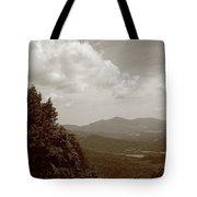 Blue Ridge Mountains - Virginia Sepia 7 Tote Bag