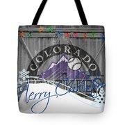 Colorado Rockies Tote Bag by Joe Hamilton