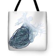 Coronary Blood Supply Tote Bag