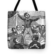 Davy Crockett (1786-1836) Tote Bag