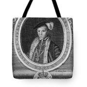 Edward Vi (1537-1553) Tote Bag