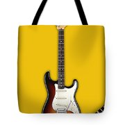 Fender Stratocaster Collection Tote Bag