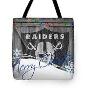 Oakland Raiders Tote Bag by Joe Hamilton