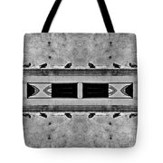 16 Pigeons On A Pharaoh's Tomb Tote Bag