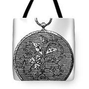 Pocket Watch, 19th Century Tote Bag