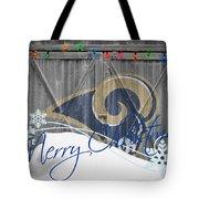St Louis Rams Tote Bag