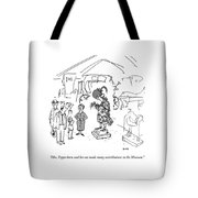 Mrs. Pepperkorn And Her Cat Made Many Tote Bag