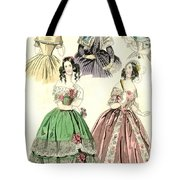 Women's Fashion, 1842 Tote Bag