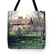 1600's English Home Tote Bag