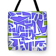 1623 Abstract Thought Tote Bag