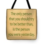 165- Yesterday Tote Bag
