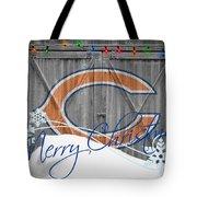 Chicago Bears Tote Bag by Joe Hamilton