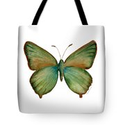 17 Green Hairstreak Butterfly Tote Bag