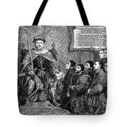 Henry Viii (1491-1547) Tote Bag
