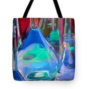 Laboratory Glassware Tote Bag by Charlotte Raymond