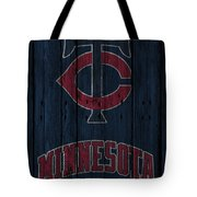 Minnesota Twins Tote Bag