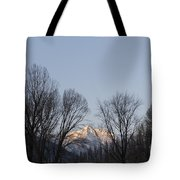 Snow-capped Mountain Tote Bag