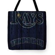 Tampa Bay Rays Tote Bag