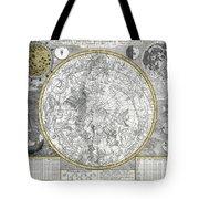 1700 Celestial Planisphere Tote Bag