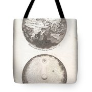 1728 Calmet Map Of The Ancient World Showing The Creation Of The Universe Geographicus Ancientworld  Tote Bag