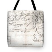 1730 Toms Map Of Central Africa Tote Bag